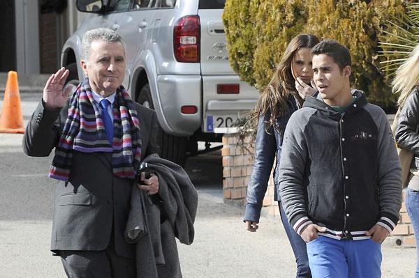 Ortega Cano y su hijo Jose Fernando
