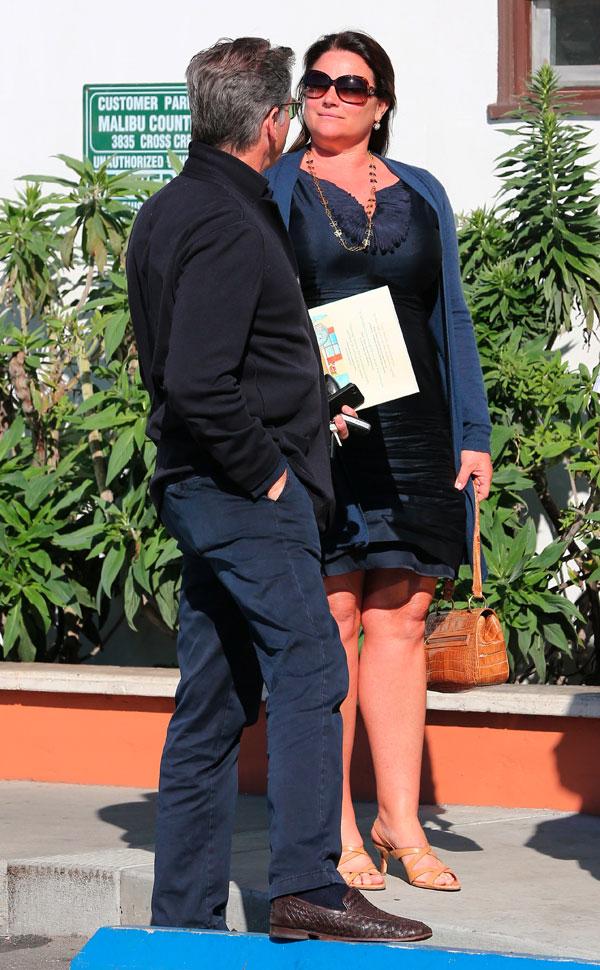 Pierce Brosnan y su mujer, Keely, en Malibú