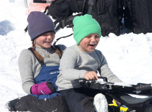 Ingrid y Sverre de Noruega