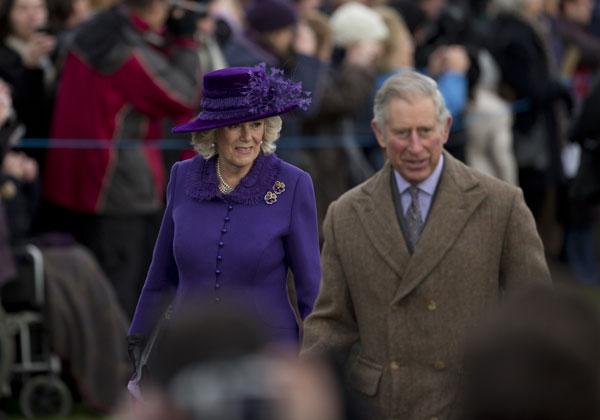 Carlos de Inglaterra y Camilla, duquesa de Cornualles