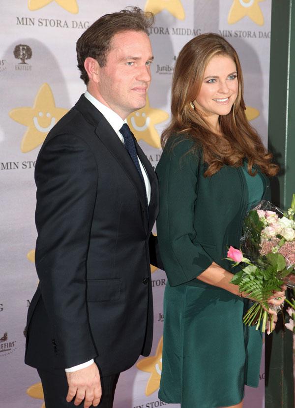 Magdalena de Suecia y Chris O'Neill