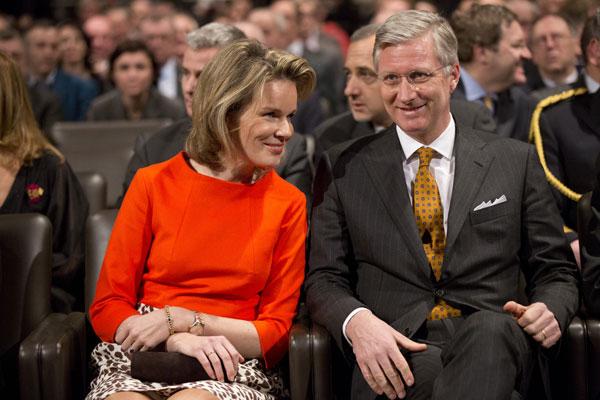 Felipe y Matilde de Bélgica