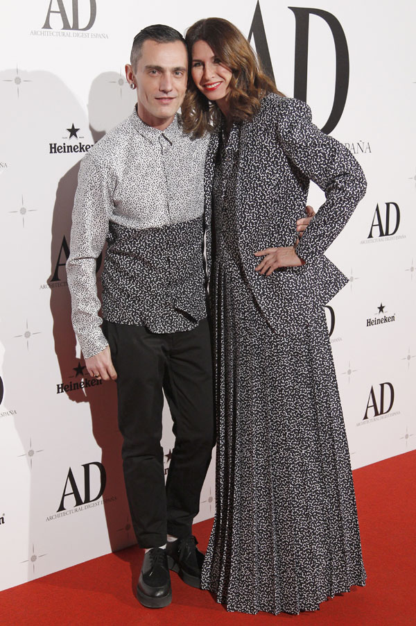 Ana García Siñériz y David Delfín