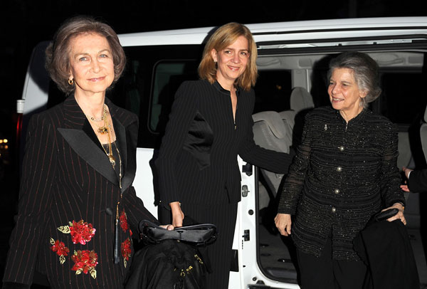 Sofía, Cristina e Irene