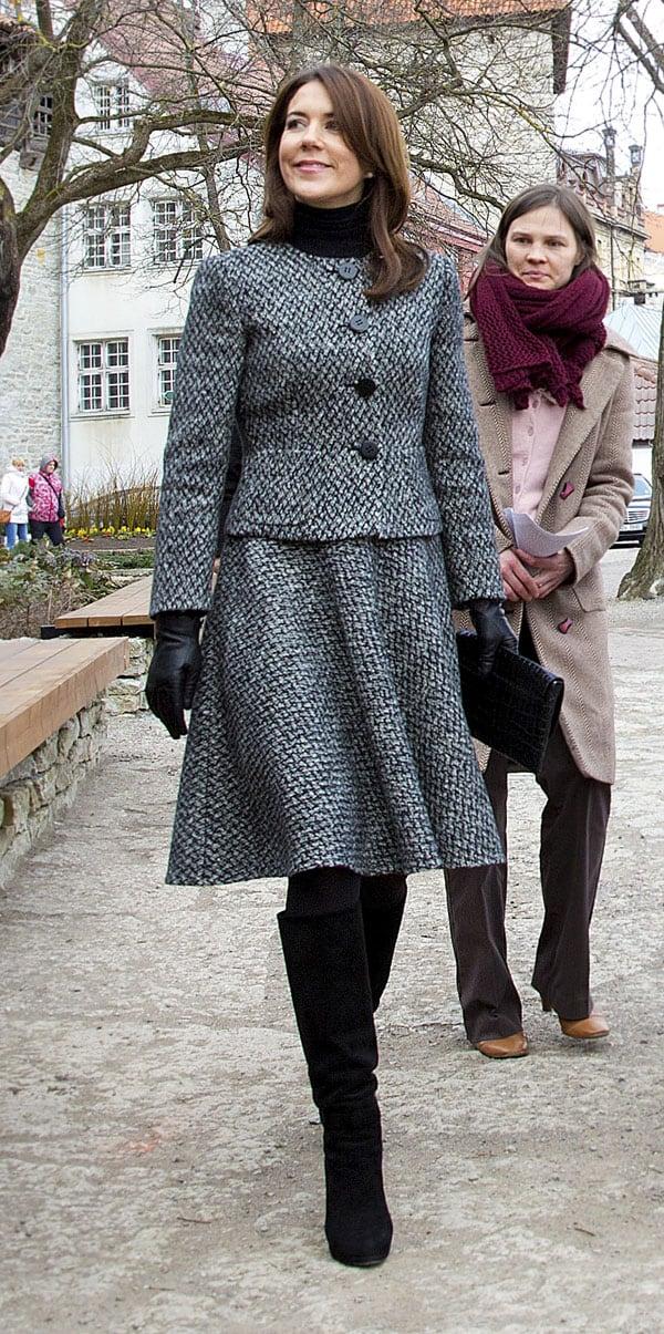 Mary de Dinamarca en Estonia