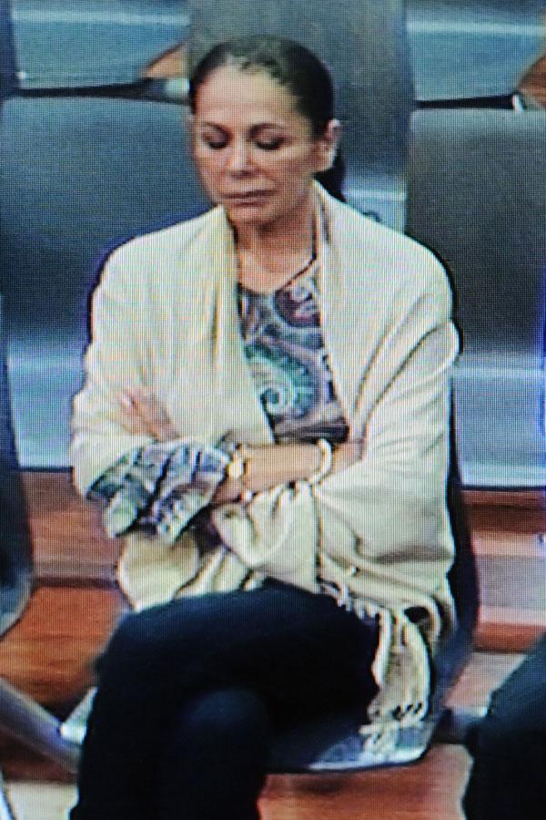Isabel Pantoja ante el juez