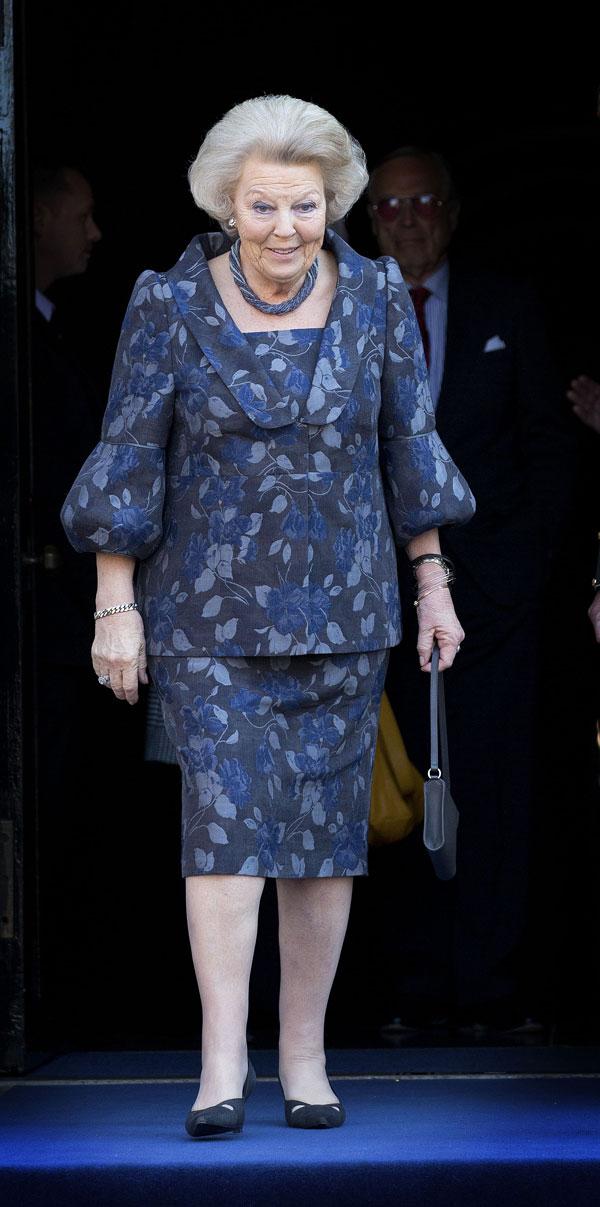 La princesa Beatriz, exreina de Holanda