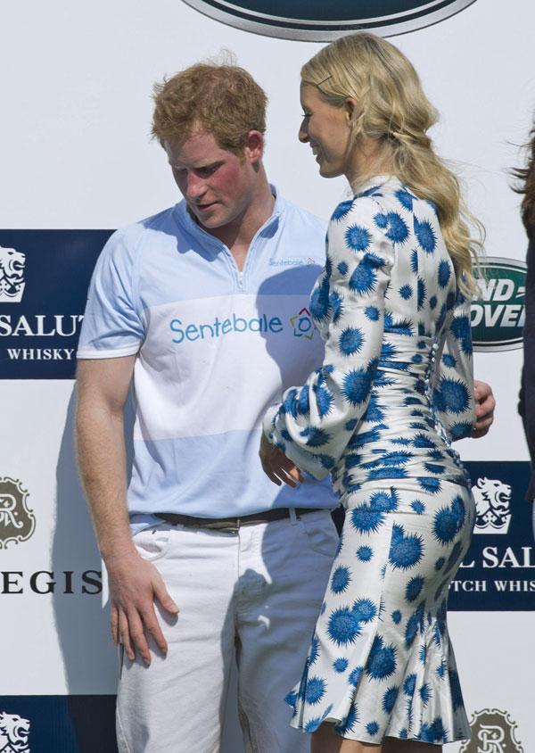 Harry de Inglaterra y Karolina Kurkova