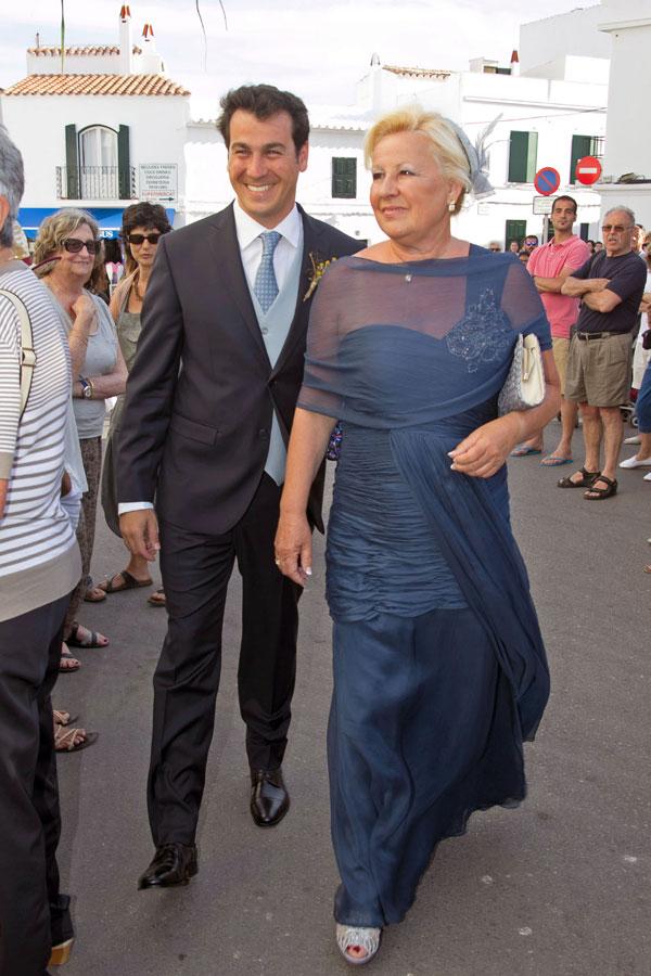 Rubén Torrico y su madre