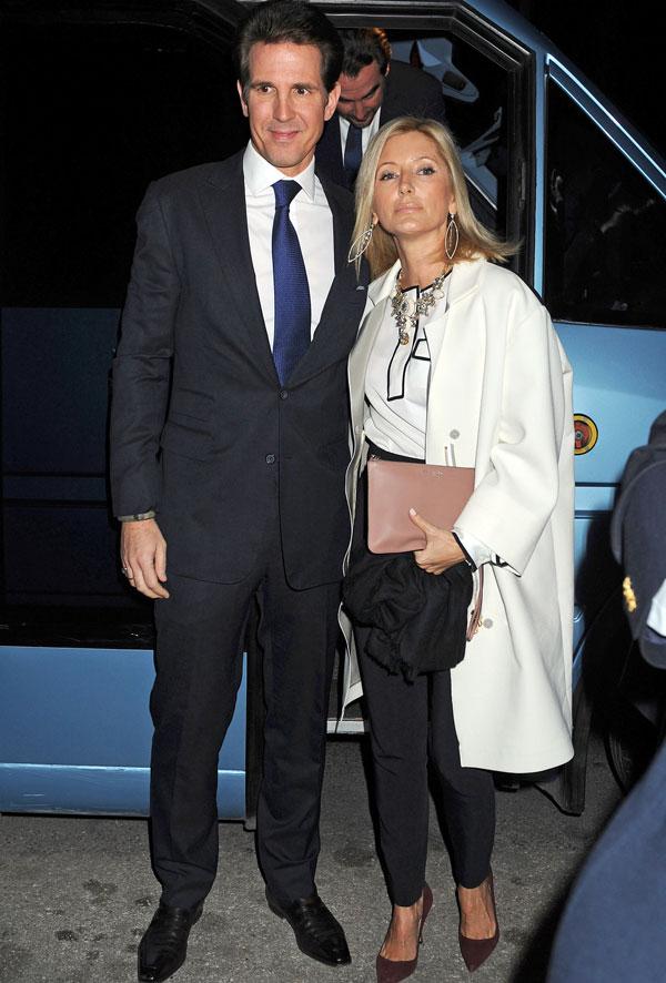 Pablo y Marie Chantal