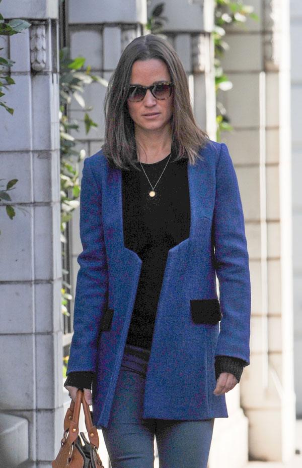 Pippa Middleton en Londres 16/04/ 2014
