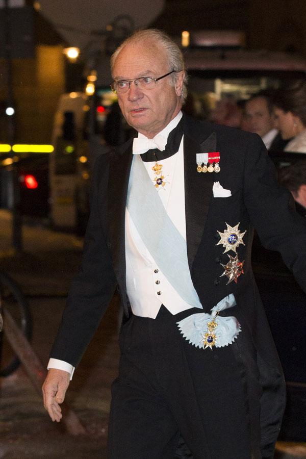 Rey Carlos Gustavo de Suecia