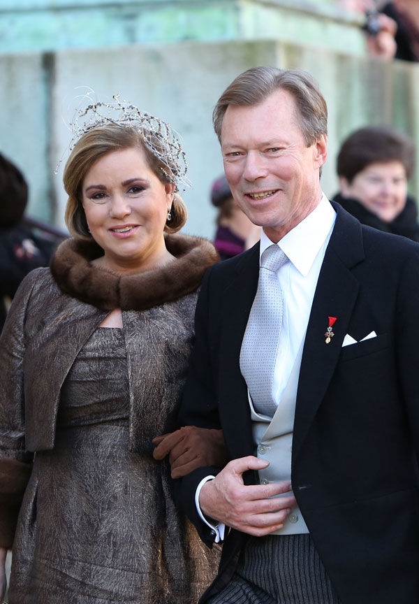 Enrique y Maria Teresa de Luxemburgo