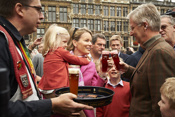 Familia real belga