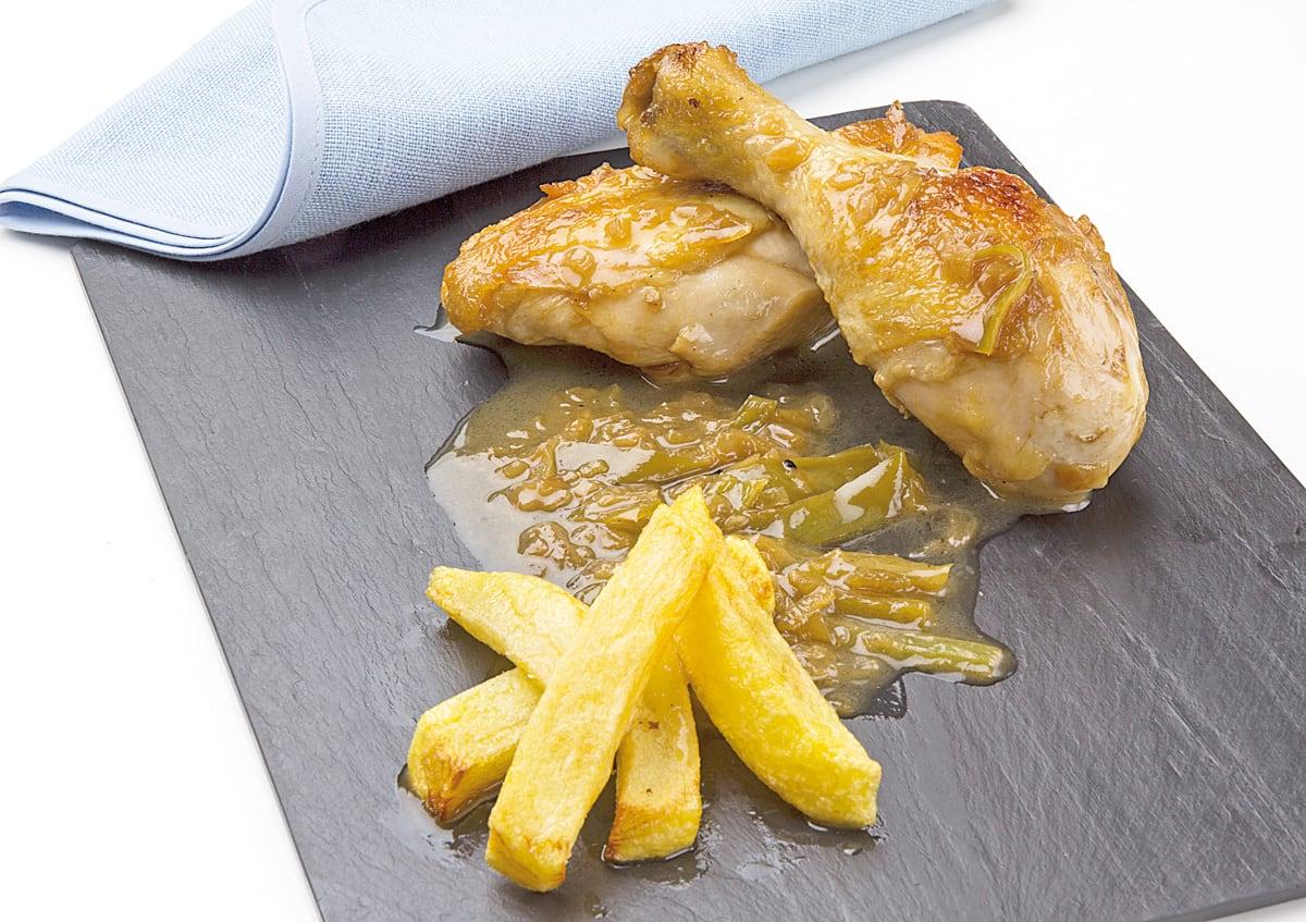 Recetas ideas interesantes y trucos de cocina semana - Pollo de corral guisado ...