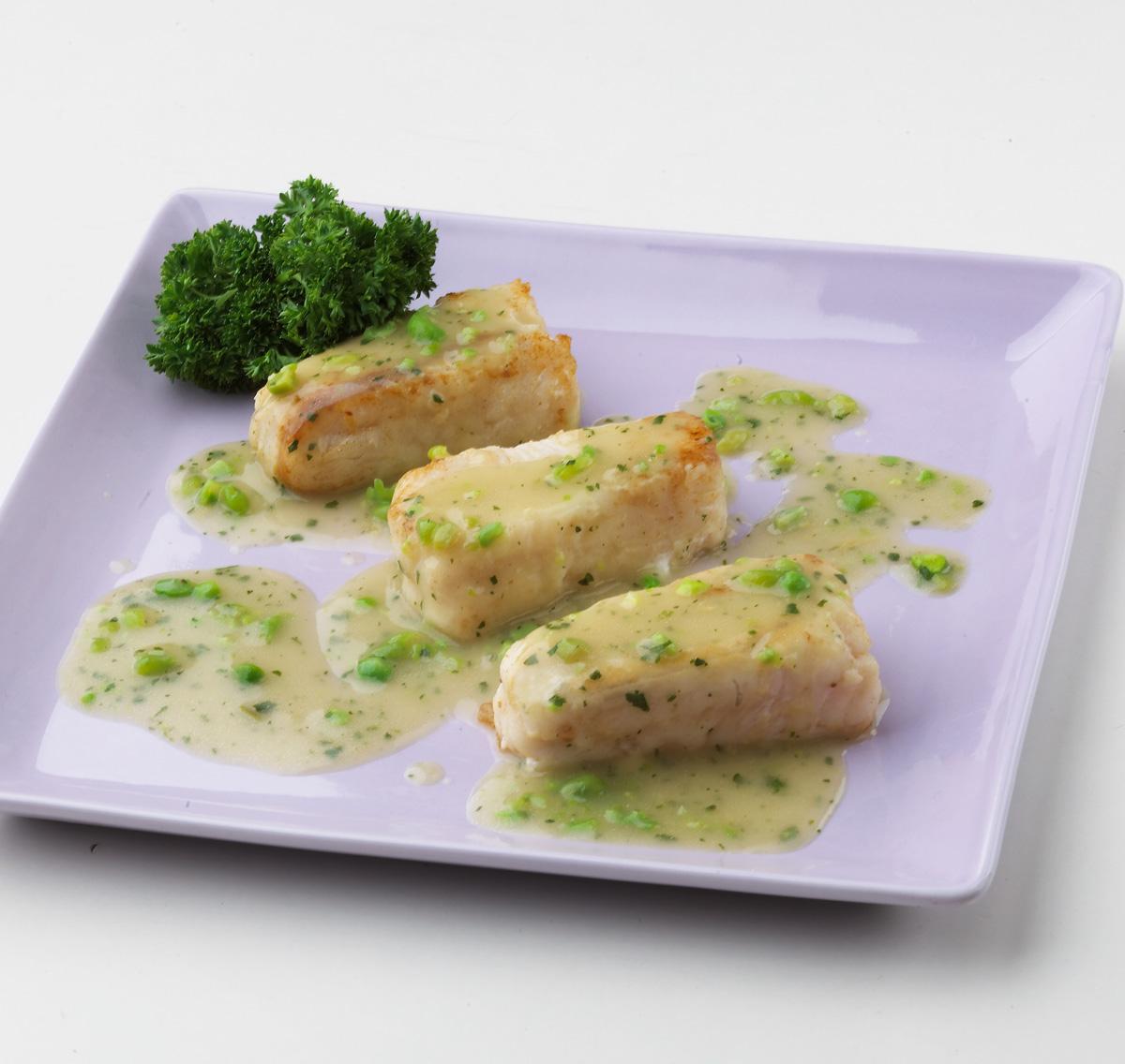 Lomos De Merluza Congelada Con Salsa Vasca Semana
