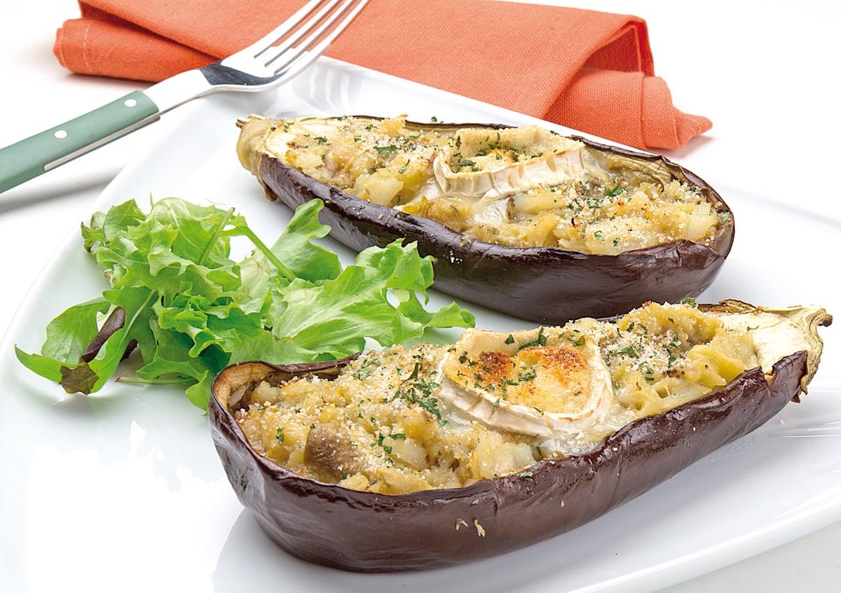 Recetas ideas interesantes y trucos de cocina semana - Berenjenas rellenas de bacalao ...