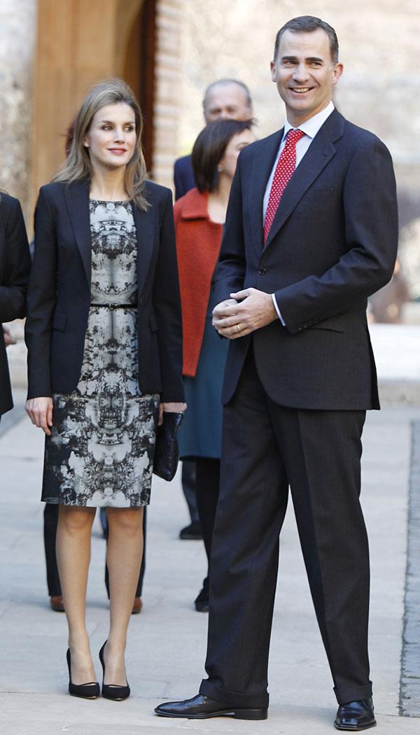 Felipe y Letizia en Granada