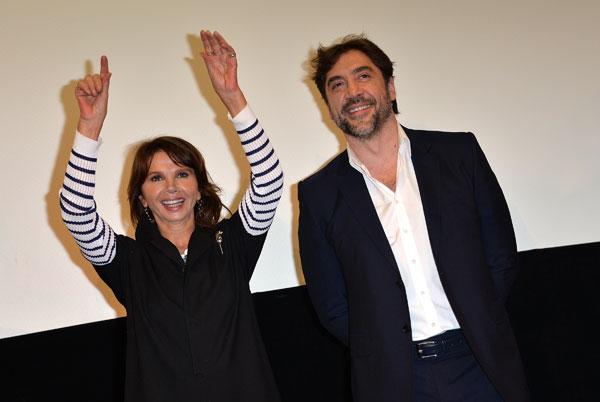 Javier Bardem y Victoria Abril