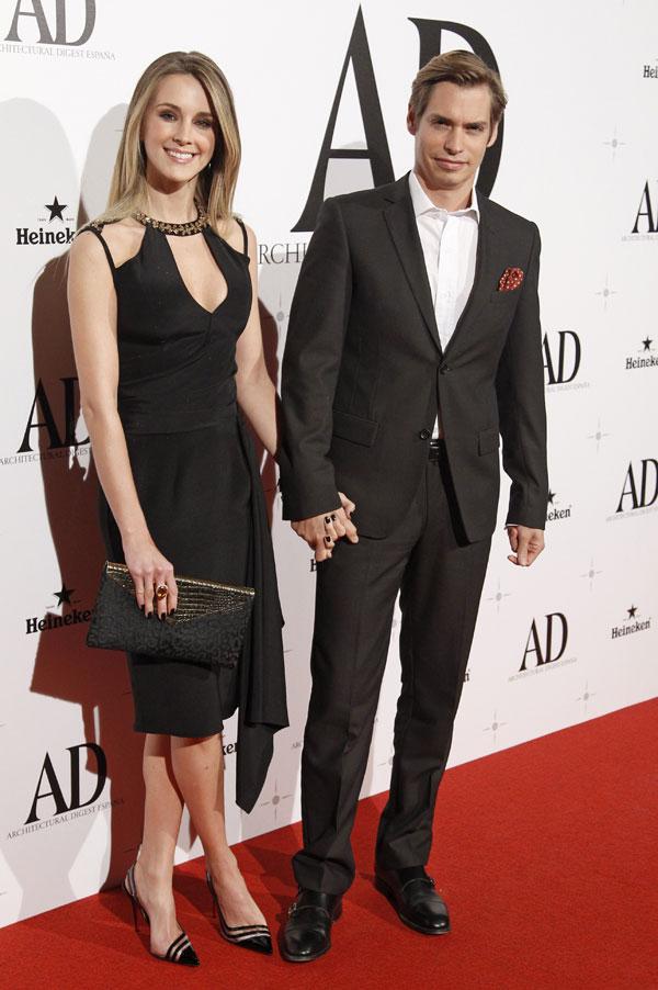 Carlos Baute y su mujer