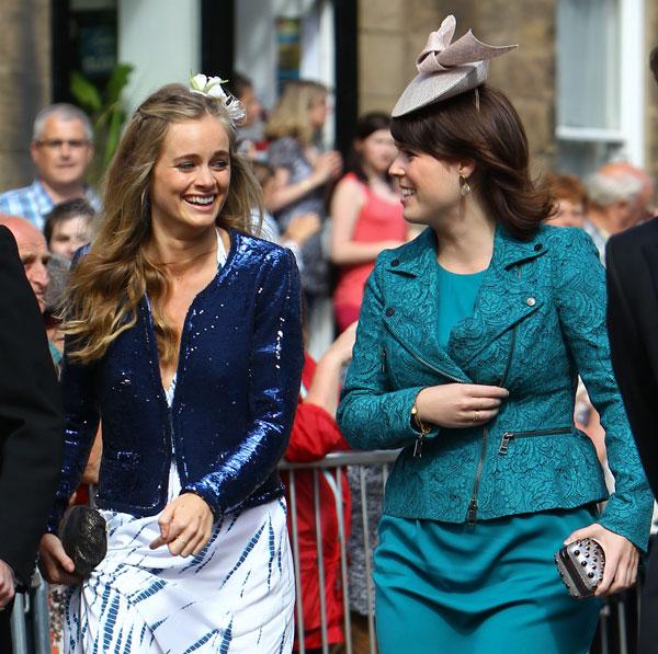Cressida Bonas y la princesa Eugenia
