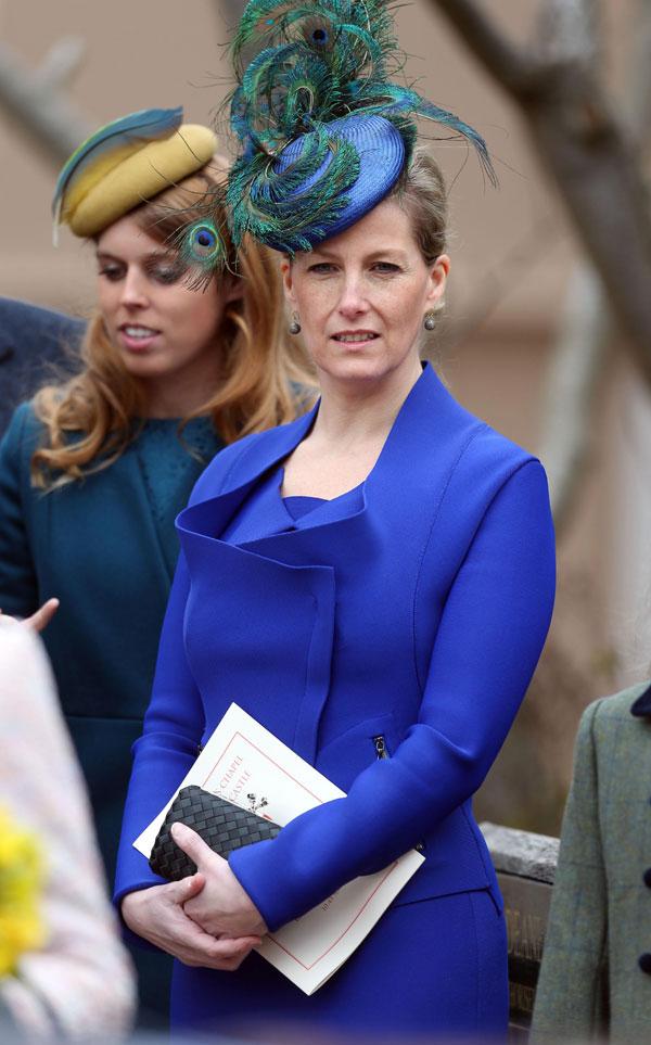 Sophie-Rhys-Jones, condesa de Wessex