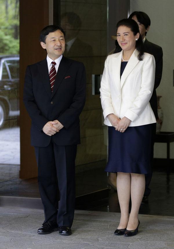 Naruhito y Masako de Japón