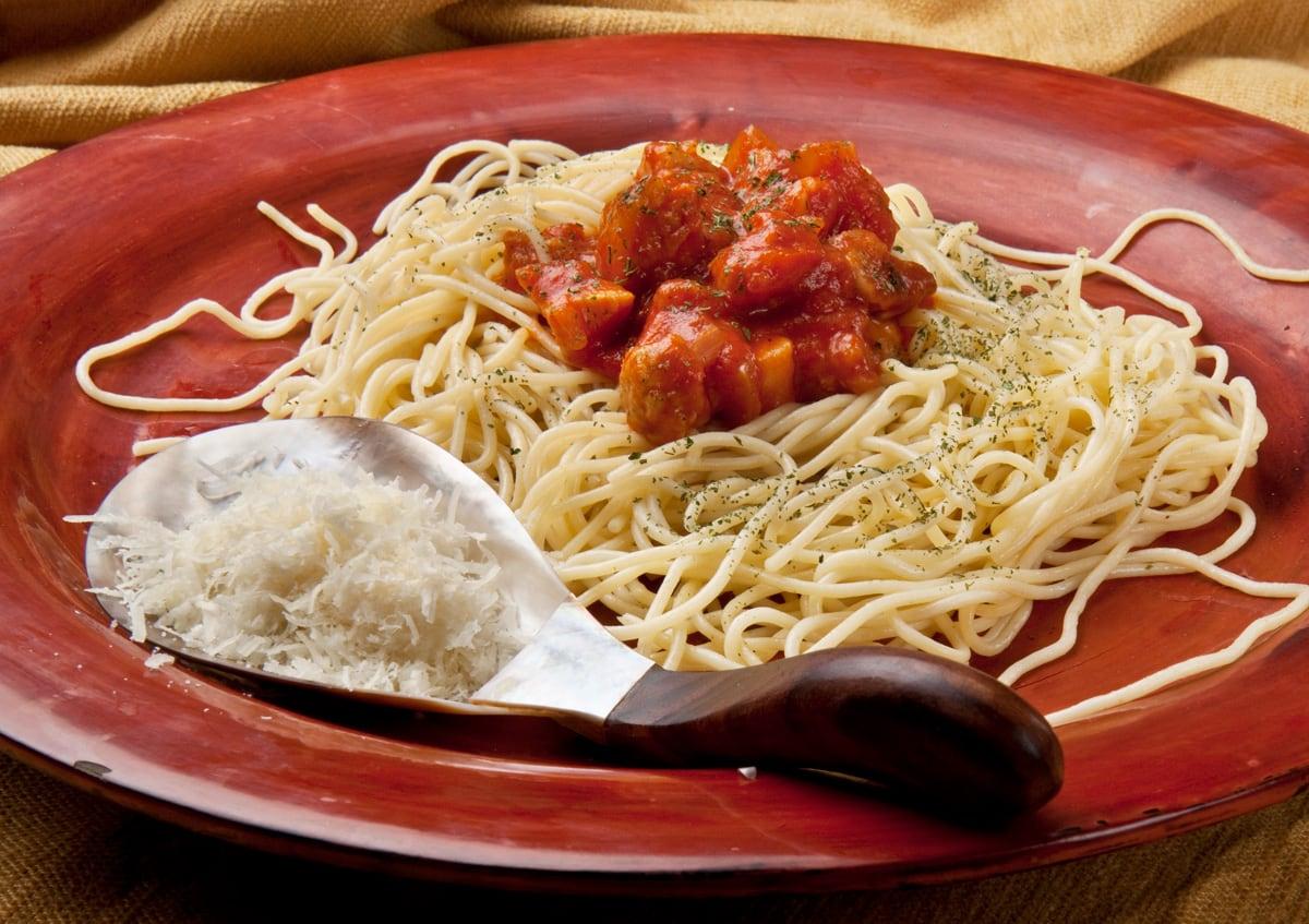Espaguettis a la matriciana