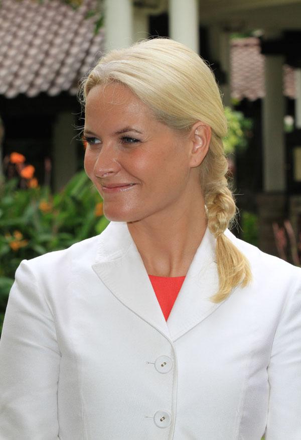 Mette-Marit de Noruega tiene 39 años
