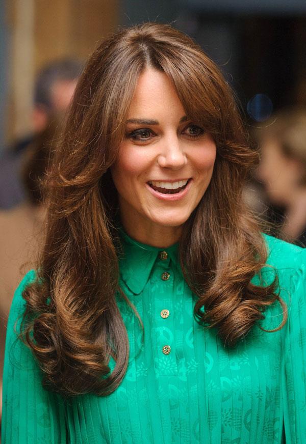 Kate Middleton con nuevo corte de pelo.