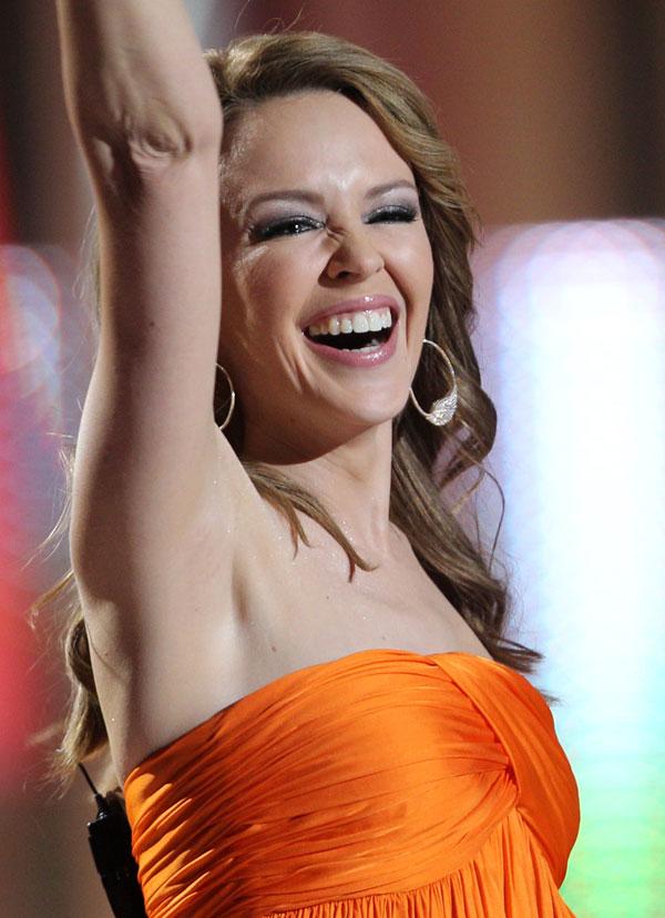Kylie Minogue cerró el concierto