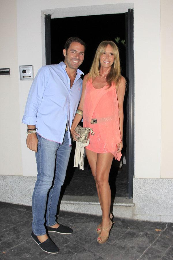 Lara Dibildos y Joaquín Capel