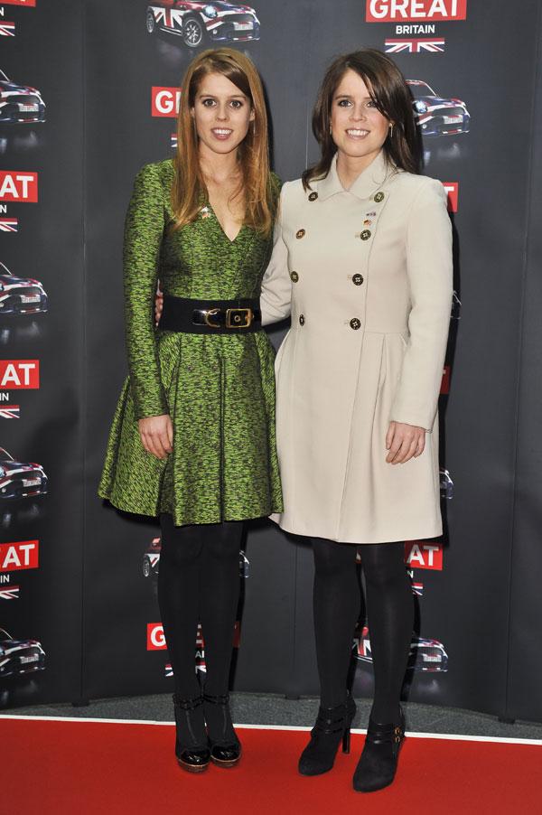 Beatriz y Eugenia de York