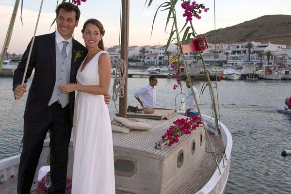 Patricia Mas y Rubén Torrico