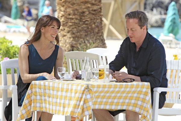 Los Cameron en Ibiza