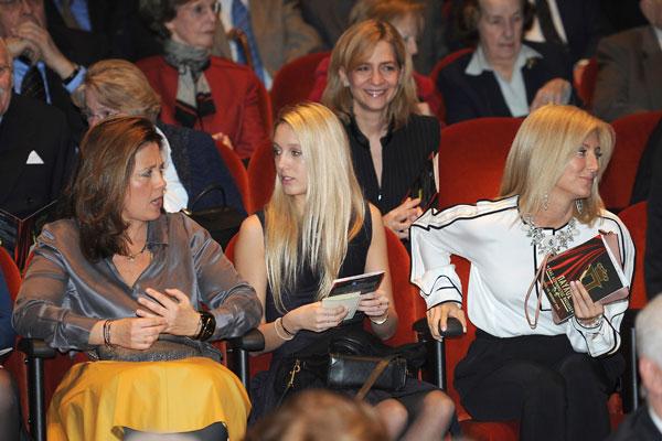 Alexia, Olympia, Marie Chantal y Cristina