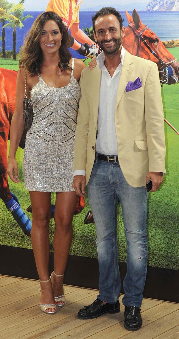 Veronica Hidalgo y novio