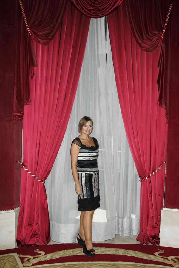 Ainhoa-Arteta ayer en Teatro Real de Madrid