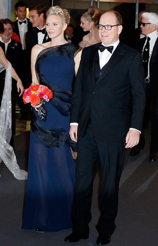 Alberto-y-Charlene en el Baile de la Rosa 2014