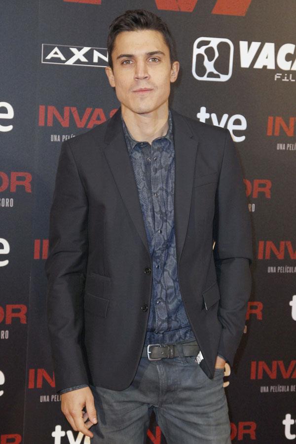 Alex-Gonzalez-en el estreno de Invasor en Madrid