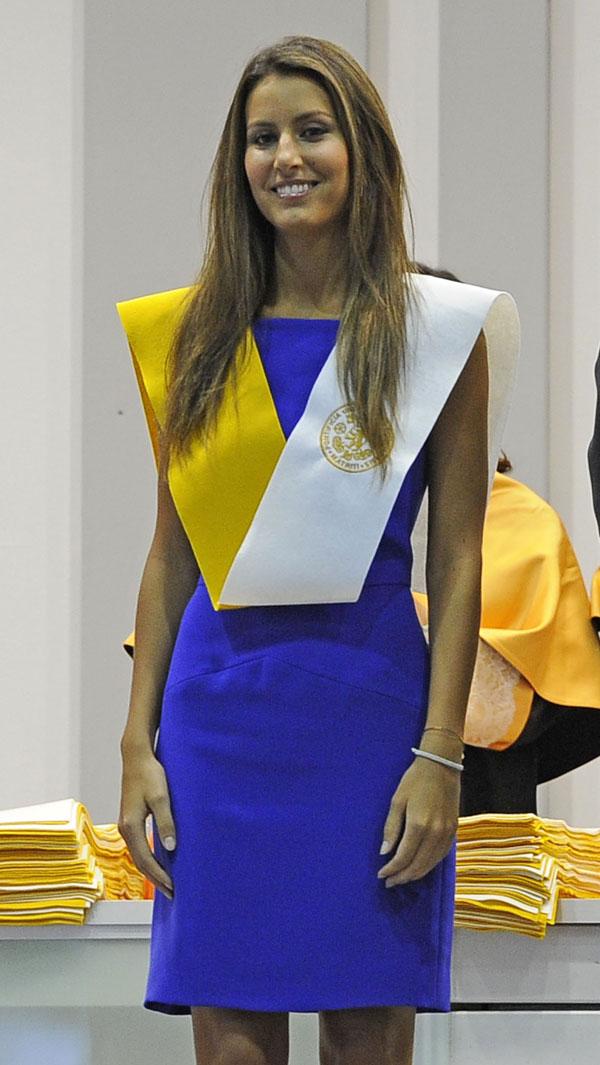 Ana Boyer, graduada en Empresariales por la Universidad Pontificia de Comillas, en Madrid