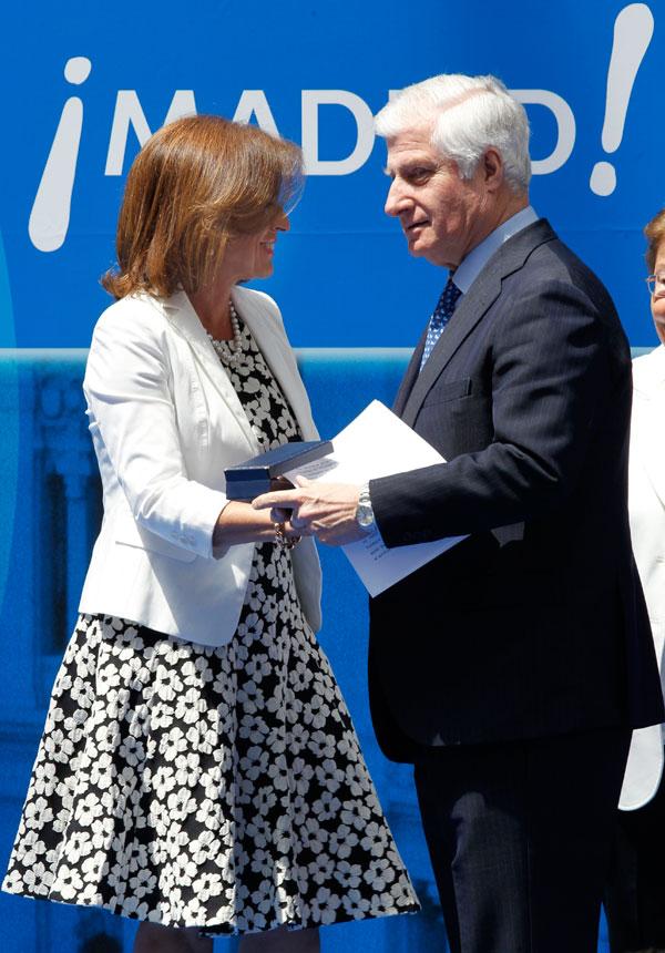 El duque de Alba con Ana Botella