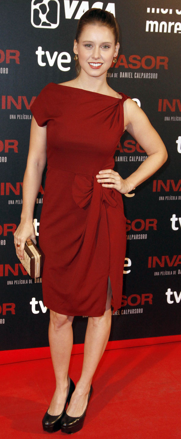 Ana-Velles-en el estreno de Invasor