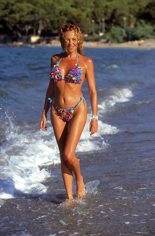 Ana Obregón en 1999