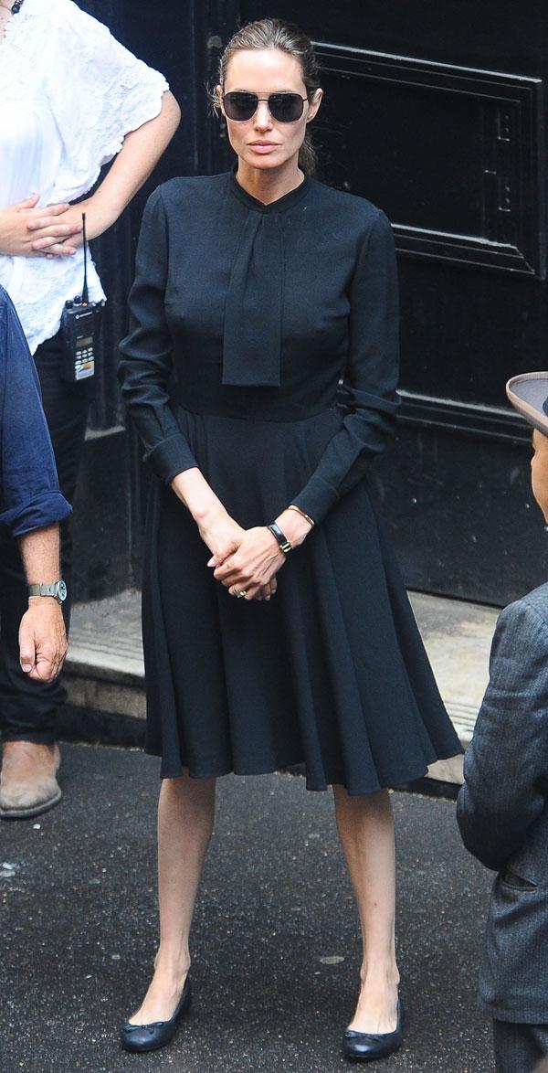 Angelina Jolie rodaje