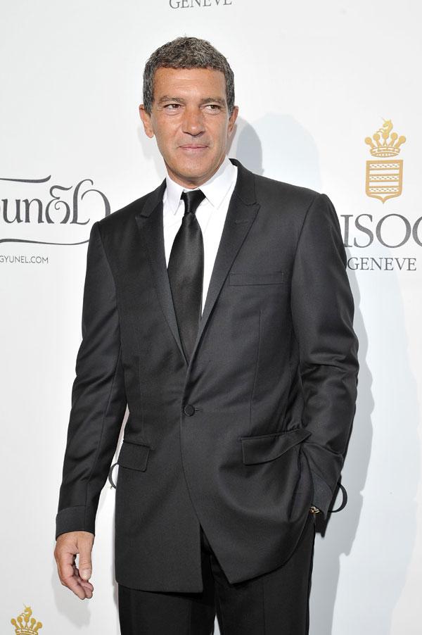 Actor Antonio Banderas in cannes 21/05/2014 ,