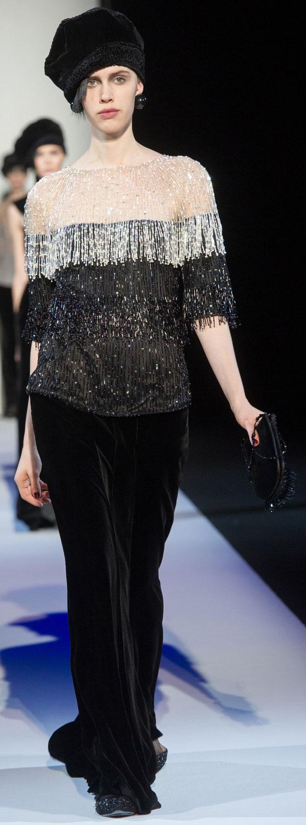 Armani Semana de la Moda de Milan