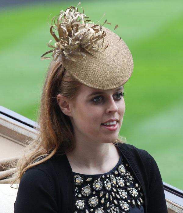 La princes Beatriz de Inglaterra en Ascot