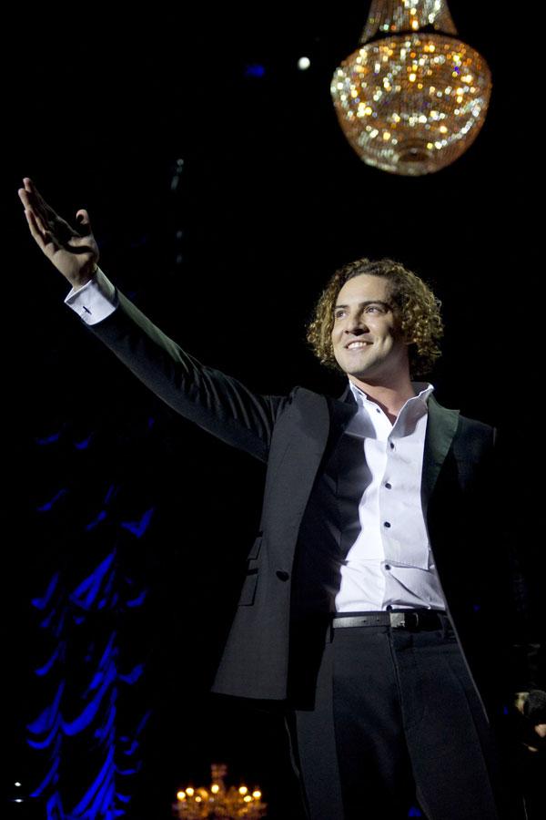 David Bisbal-en el concierto del Palacio de los Deportes de Madrid