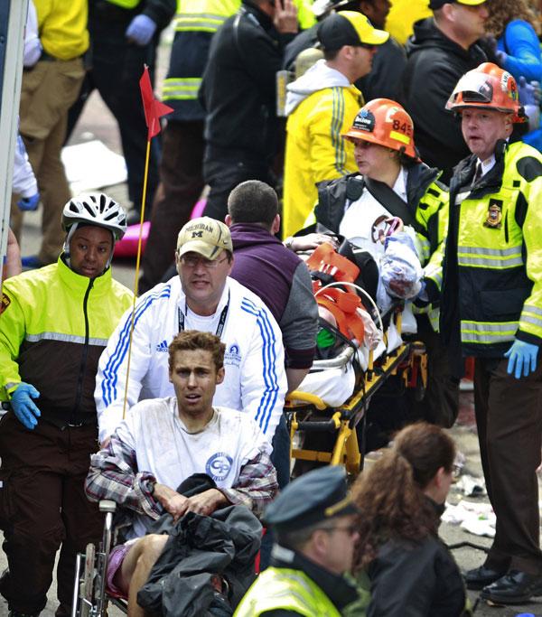 Explosiones en la maratón de Boston de 2013